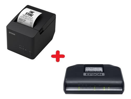 Combo Sat Fiscal Epson Mais Impressora Termica Epson Tm-t20