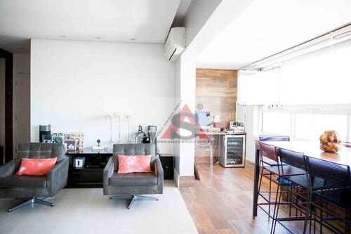 Apartamento Com 3 Dormitórios À Venda, 141 M² Por R$ 1.650.000,00 - Brooklin - São Paulo/sp - Ap36394