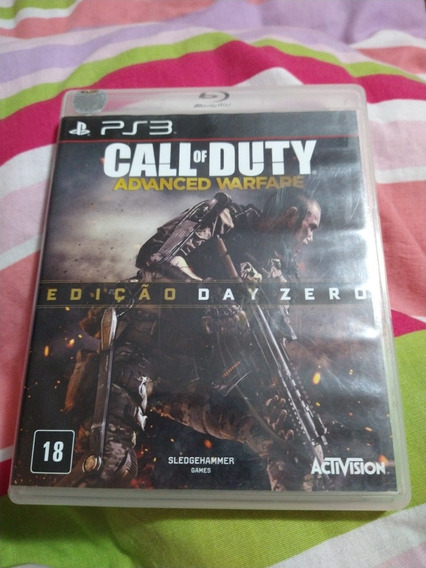 Call Of Duty Advanced Warfare, Ed Day Zero, Ps3 Mídia Física