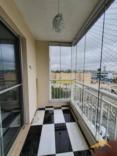 Apartamento Com 3 Dormitórios À Venda Por R$ 349.990,00 - Jardim Guairaca - São Paulo/sp - Ap0983