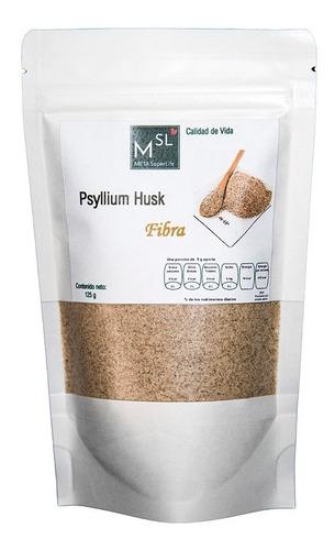 Imagen 1 de 4 de Psyllium Husk Plántago-bolsa Resellable 125 G -origen: India