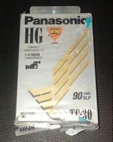Fita Vhs-c Panasonic Para Filmadoras