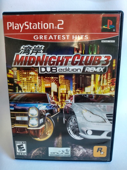 Midnightclub 3 Dub Edition Ps2 Original