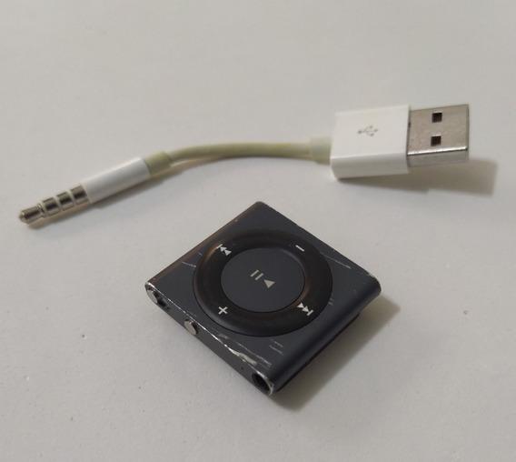 iPod Shuffle 2gb Cinza 4 Geração Cabo Parc Usado Leia Vf4vf