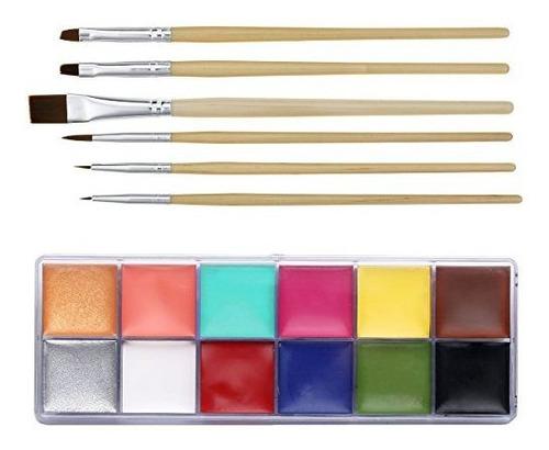 Ccbeauty Profesional Cara Pintura Aceite Cuerpo Pintura Arte