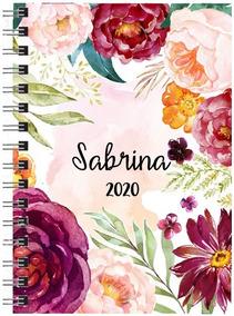 Agenda 2020 Personalizada Linha Floral 1