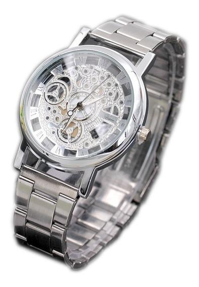 Reloj Metálico Elegante Mayoreo Economico Envio Gratis