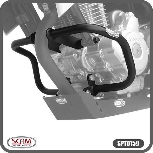Protetor Motor Cb Twister 250 2016+ Spto159 Scam