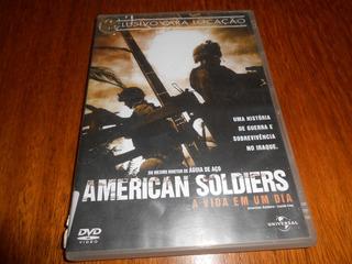 Filme Dvd American Soldiers.