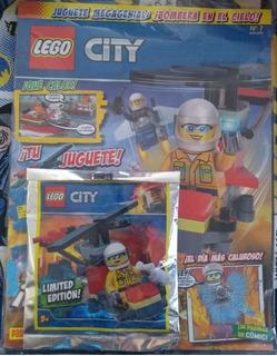 Revista Lego City No. 7 Helicoptero