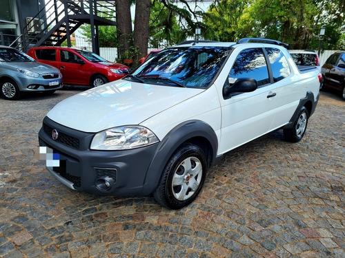 Fiat Strada Working 1.4 Doble Cab 3ptas 2018 50.000km T/usad