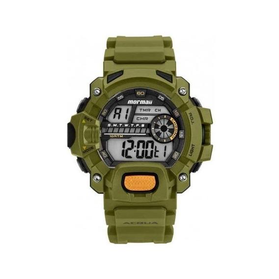 Relógio Mormaii Masculino Acquaforce Verde Mozm1132/8v