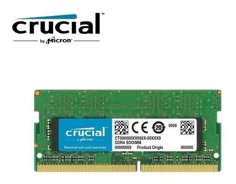 Memoria Micron Crucial Notebook 4gb Ddr4