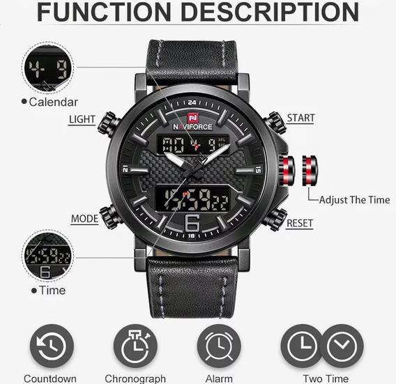 Naviforce Relógio De Luxo