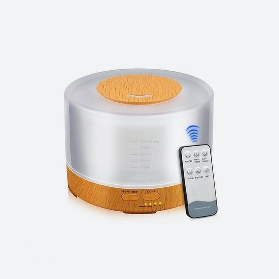 Difusor Humidificador De Aire Ultrasonico Aromaterapia /e