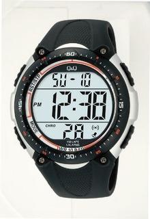 Reloj Digital Q&q M010-002 Sumergible 100 Metros