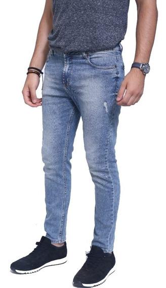 Pantalon Jean Odin Classic Blue Hombre   Ona Saez (oi195405)
