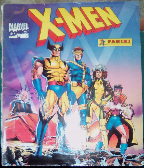 Album Estampas X Men Panini 1994 (faltan 30 De 216)