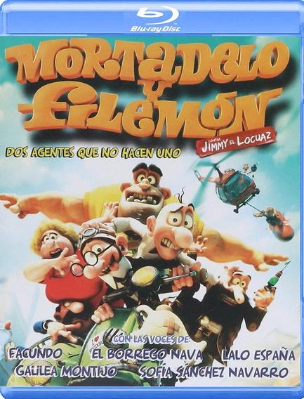 Mortadelo Y Filemon Contra Jimy El Locuaz Pelicula Blu-ray