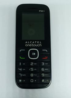 Celular Alcatel Ot 1045d Preto C/ Avaria S/ Garantia