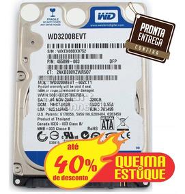 Hd 320gb - Notebook - Seminovo - Com Garantia De 3 Meses.