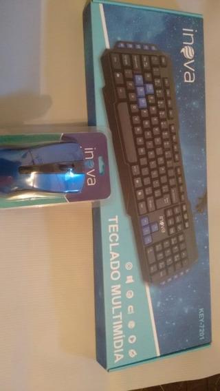 Combo Teclado E Mouse