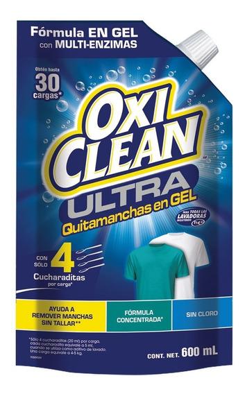 Ultra Quitamanchas Sin Cloro En Gel 600ml Oxiclean