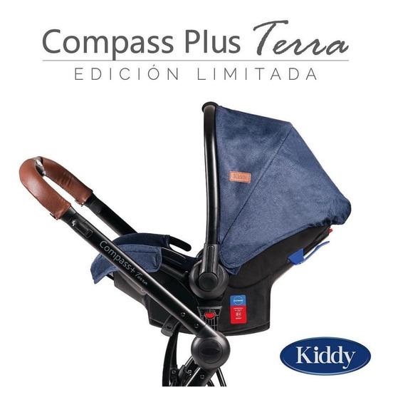 Kiddy Coche Travel System Compass Plus Terra 3en1