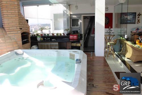 Imagem 1 de 15 de Cobertura Para Venda Em São Bernardo Do Campo, Centro, 3 Dormitórios, 1 Suíte, 2 Banheiros, 2 Vagas - 7139_1-1703196