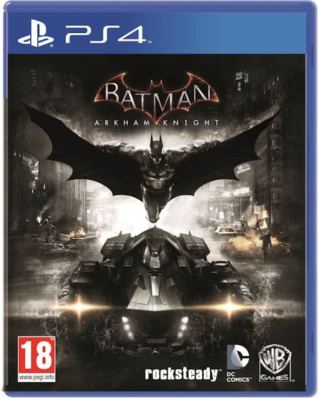 Batman Arkham Knigth Ps4 Original 2 Por 10 Dias