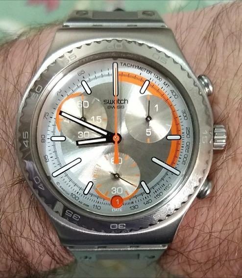 Relógio Swatch Semi-novo + Brinde