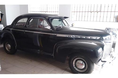 Imagem 1 de 6 de Chevrolet Coupe 1941 41 - Placa Preta - Original