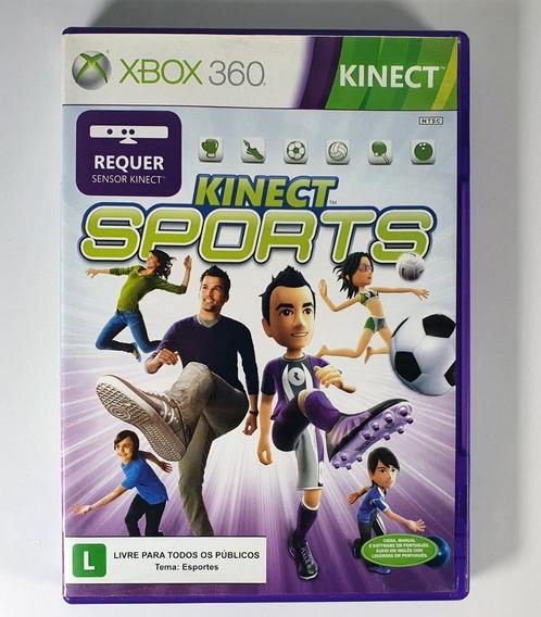 Kinect Sports Xbox 360 Original Mídia Física Promoção Top