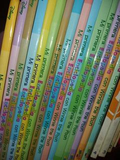 15 Libros - Mi Primera Enciclopedia Con Winnie The Pooh