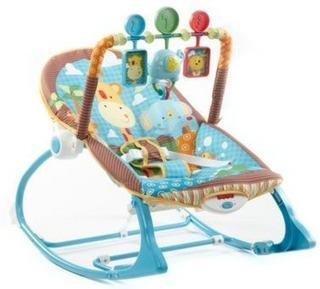 Mecedora Fisher-price Infant To Toddler Rocker, Jungle Fun