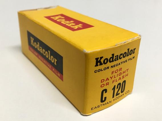 Filme 120 Kodacolor Ano 1964 - Raridade Lacrado E Sem Uso