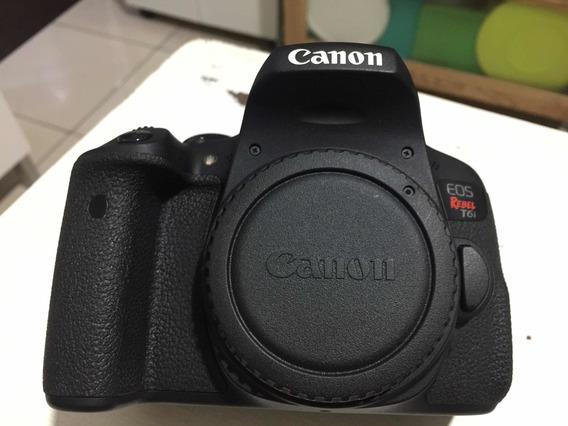 Canon T6i Corpo, 2 Baterias,carregador. Negoção! Perfeita!