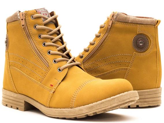 Bota Casual Masculina Way Boots Leve Confortável Disponível