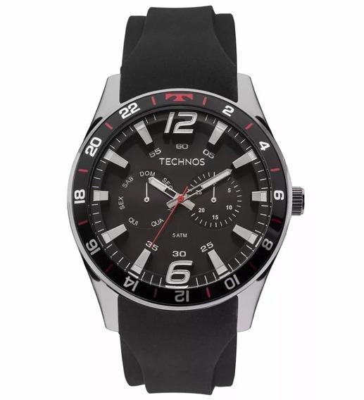 Relógio Technos Masculino Racer 6p25bn/8p - Promo - C/ Nfe.