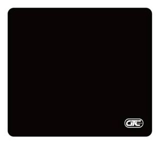 Mouse Pad Liso Neoprene Antideslizante Negro 20,5 X 23,5 Cm