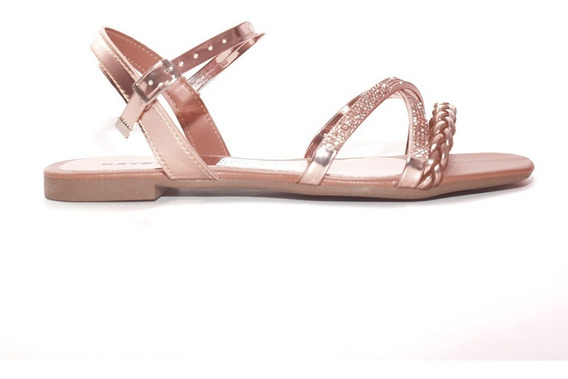 Sandalias Zapatos Mujer Chatas Noche Elegantes Verano