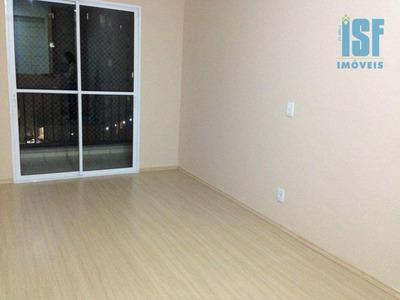 Apartamento Com 3 Dormitórios Para Alugar, 65 M² Por R$ 1.350/mês - Umuarama - Osasco/sp - Ap0762