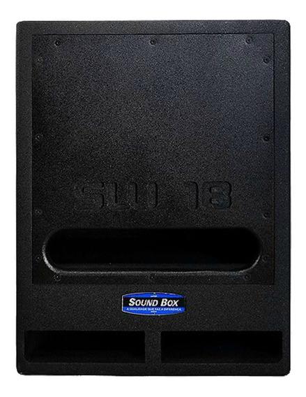 Caixa Som Sw 18 Passiva Soundbox Com Capa De Proteção