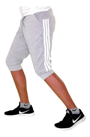 Shorts Pants 3/4 Harem Bermuda Jogger Algodón Moda Japonesa