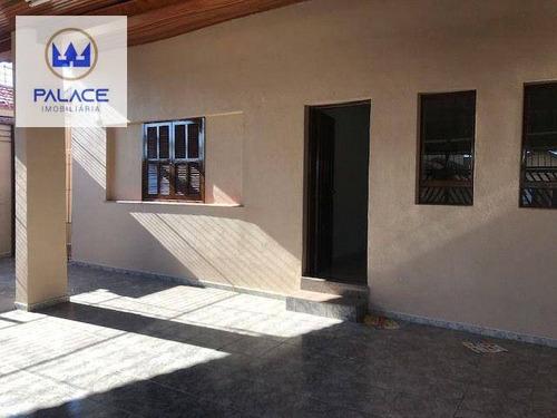 Casa Com 3 Dormitórios À Venda, 178 M² Por R$ 440.000,00 - Piracicamirim - Piracicaba/sp - Ca0667