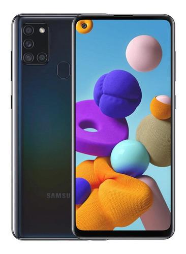 Teléfono Samsung A21s Ram 4gb Rom 64gb Negro