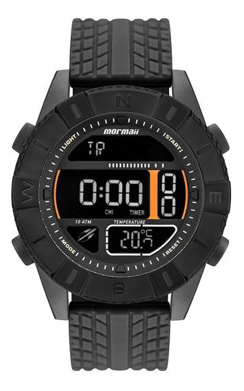 Relógio Digital Mormaii Masculino Action Preto Mo5334aa/8p