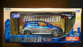 Norev Bad Rider 1:18 - Peugeot 206 Gt - Edição Limitada