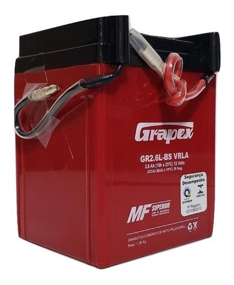 Bateria Gel Moto Honda Cg Titan 125 Today Ano 1993 2,5 Ah