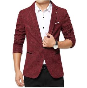Blazer Vermelho Slim Masculino - Import. / Store Eleganceman
